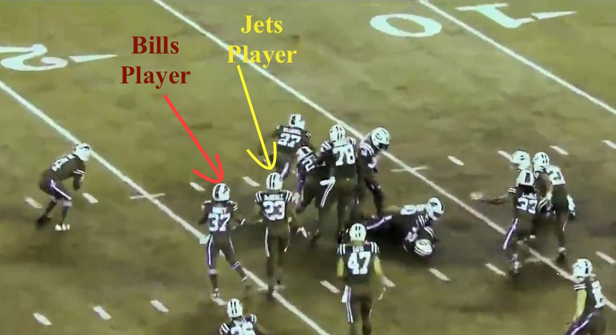 Bills vs. Jets in Red/Green