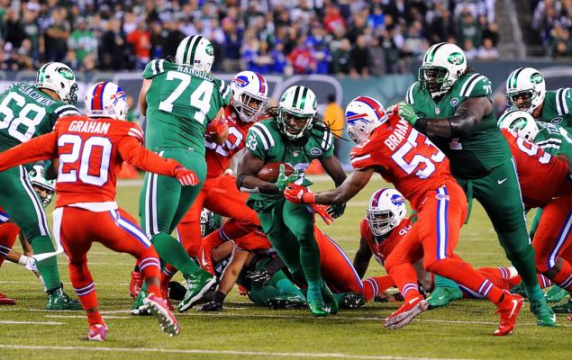 Green Jets vs. Red Bills