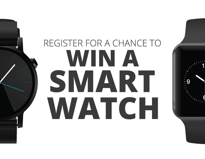 Win a smart watch