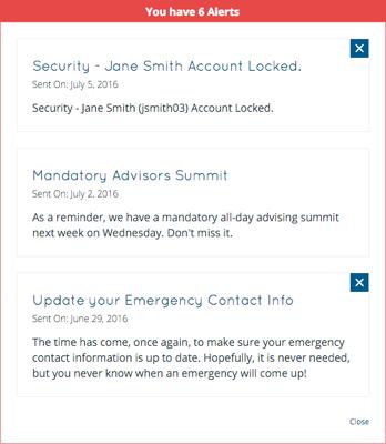 IntraSee Alerts Screenshot