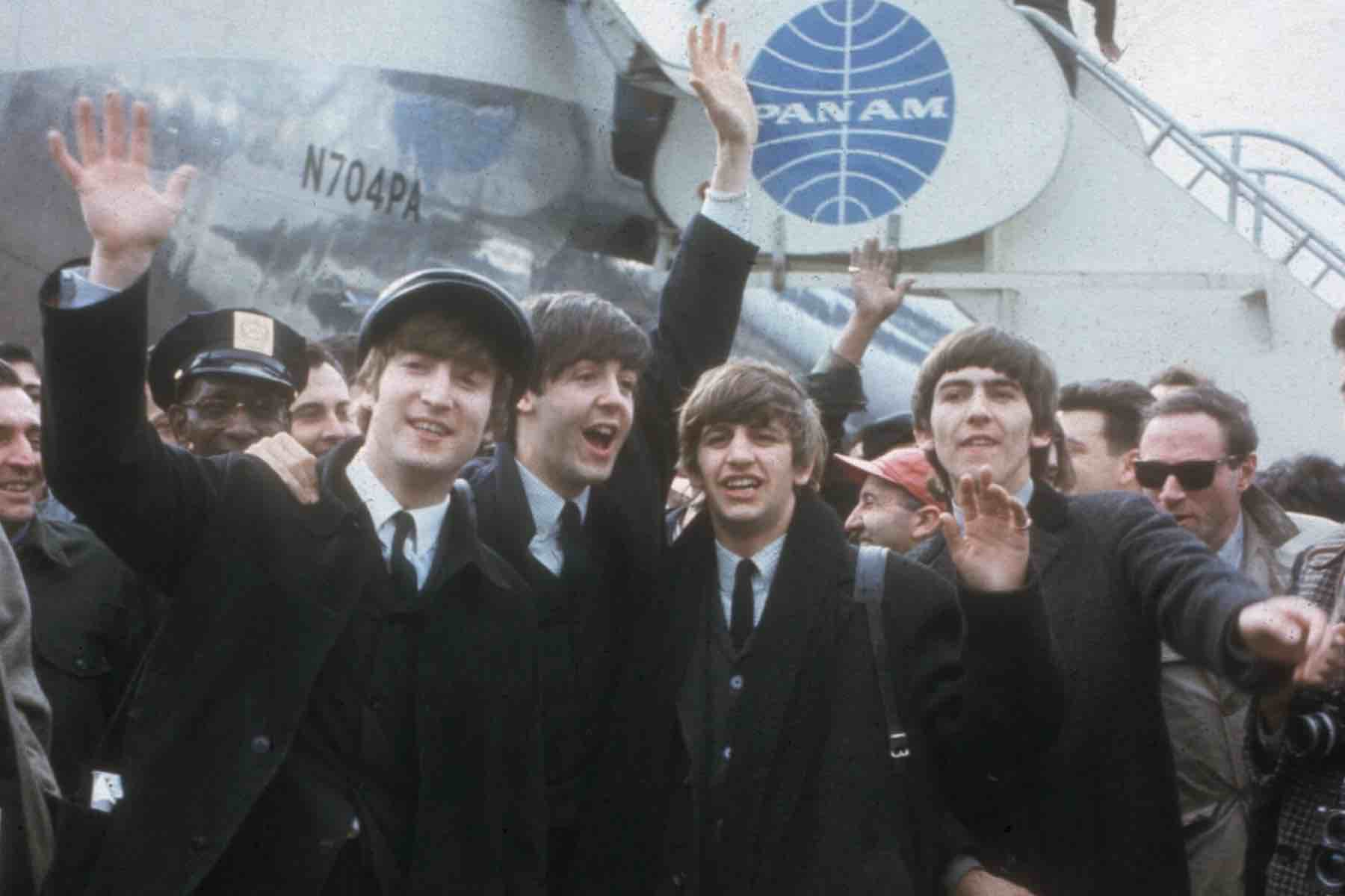 Beatles Arrive