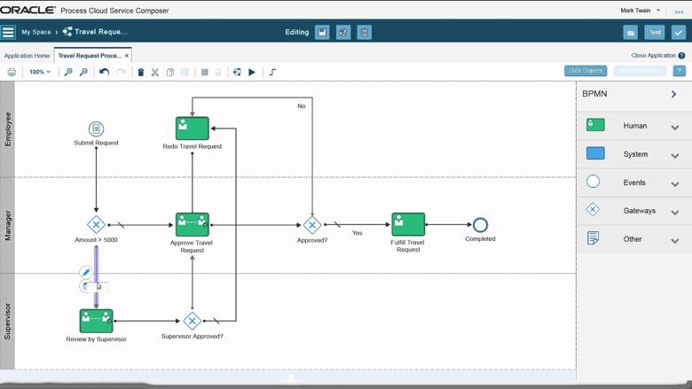 Process Cloud Screenshot