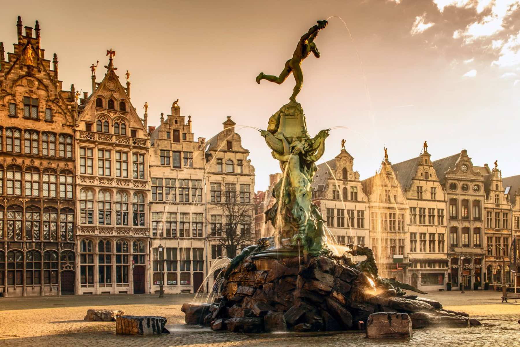 Antwerp Fountain