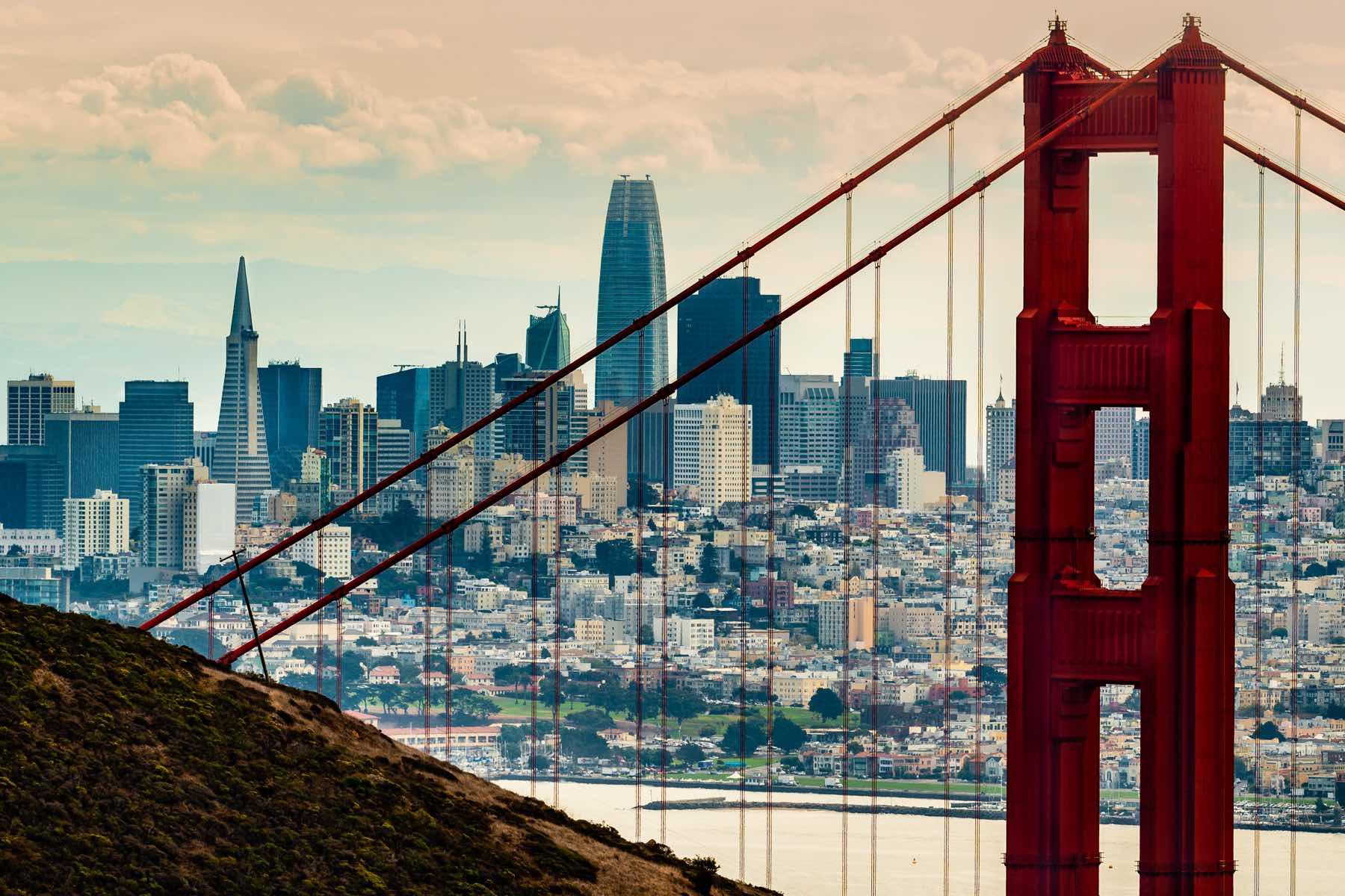 San Francisco business district